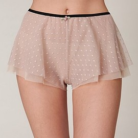Free People - Delphine Spot Mesh Bloomer