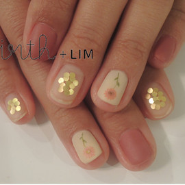 virth+LIM - hand nail お花マット