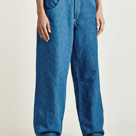 LEVI'S RED - Women's Bagged High Waisted Indigo Jeans