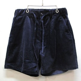 vote make new clothes - Wide Shorts navy cord