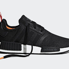 adidas - NMD R1 - Black/Red/Orange?