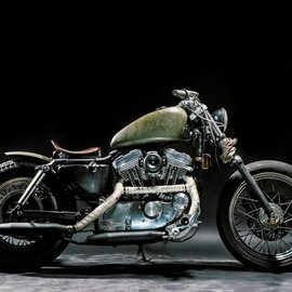 "Lorenz Richard - Harley Davidson Sportster 883 ""The Witch"""