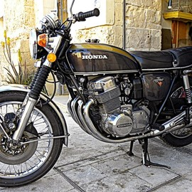 Honda - CB750 Four at Malta