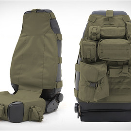 SMITTYBILT - TACTICAL SEAT COVERS