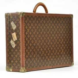 LOUIS VUITTON - large monogram hard bisten travel suitcase