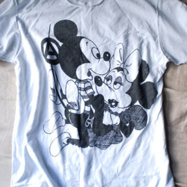 seditionaries -  Mickey Mouse tee shirt