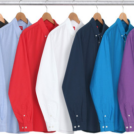 Supreme - 14SS Oxford Shirt