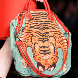 Just Cavalli - FW2013 Tiger Printed Bag