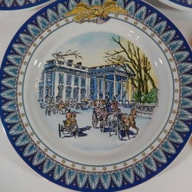 Tiffany & Co. - WHITE HOUSE BICENTENNIAL PLATES