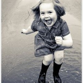 Puddle Jumping!!!!!