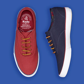 keds - Keds for Brooks Brothers Ripstop Lace-Up