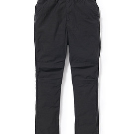 nonnative - HIKER TROUSERS DROPPED FIT C/N BACK SATIN