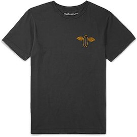 Mollusk - Slim-Fit Printed Cotton-Jersey T-Shirt
