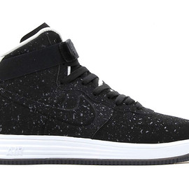 Nike - Image of Nike 2013 Holiday Lunar Force 1 Lux High VT Black/Black