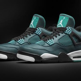 Nike - NIKE AIR JORDAN 4 RETRO TEAL