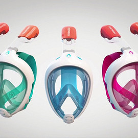 decathlon - EASYBREATH SNORKELING MASK