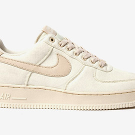 """NIKE - Air Force 1 Canvas """"Cashmere"""""""