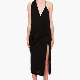 ALEXANDER WANG  - Asymmetrical Sash Dress