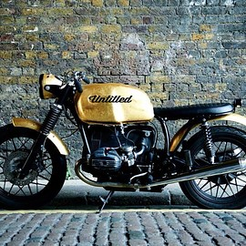 UNTITLED MOTORCYCLES - Real Gold   BMW R80/7