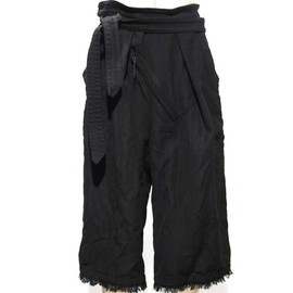 "SIVA - BOT-CLT / ""HAKAMA"" CROPPED BOTTLE PANTS"