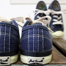 CONVERSE×DENIM DUNGAREE - Jack Purcell