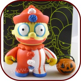 The Simpsons - Les Simpsons - Treehouse of Horror - Art Toy Clown Ralph
