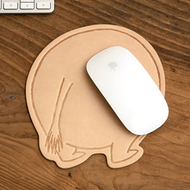 Moomin Leather Mouse Pad