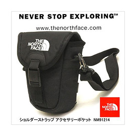 THE NORTH FACE - SHOULDER STRAP ACC POCKET NM91214-K