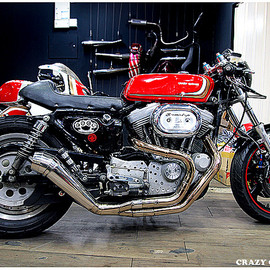 Crazy Garage - Cafe Sporty  / Harley-Davidson