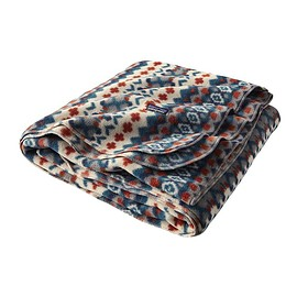 Patagonia - Full Print Synchilla® Fleece Blanket Special Cliff/Underwater Blue