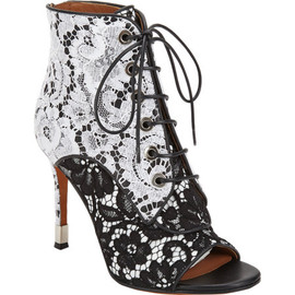 GIVENCHY - Macrame Lace Ankle Boot