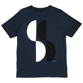 Saturdays Surf NYC - HALF CIRCLE TEE NVY