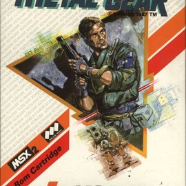 KONAMI, MSX2 - Metal Gear メタルギア