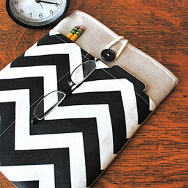 HipsterHaberdasher - 11 inch laptop Macbook Mac book Air Cover Padded Case Sleeve