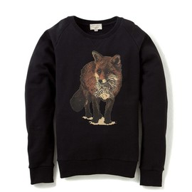 MAISON KITSUNÉ - WALKING FOX SWEATER