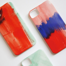 Watercolor iPhone 5 or 4 Case - Choose your color
