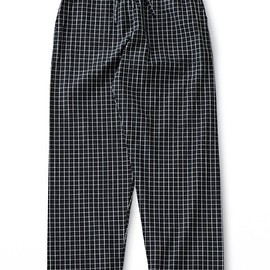 PHINERIN - Night Pants WP (black check)