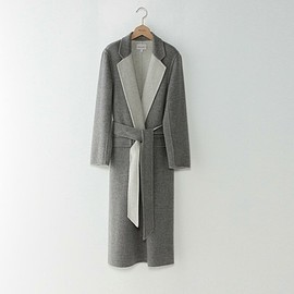 STEVEN ALAN - WOOL REVER SEWING COAT