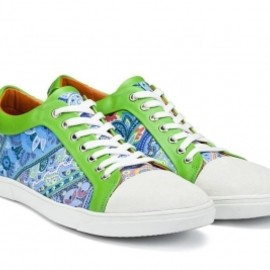 Etro - エトロ(ETRO)ペイズリープリントスニーカー colourful trainers 1