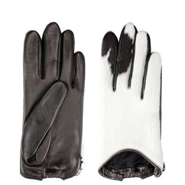 GIVENCHY - Gloves leather and pony