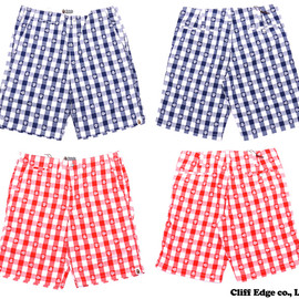 A BATHING APE - MILO GINGHAM CHECK SHORTS