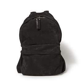 nonnative - DWELLER DAYPACK ITALIAN COW SUEDE by OFFICINE CREATIVE