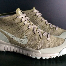 Nike - Nike Flyknit Chukka FSB   Unreleased Khaki Sample