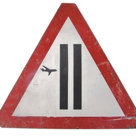 Banksy - Warning Sign