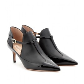 VALENTINO - PATENT LEATHER T-BAR PUMPS