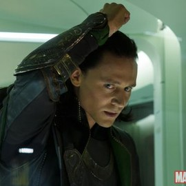 Tom Hiddleston as Loki in 'Marvel's The Avengers'