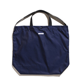 ENGINEERED GARMENTS - Carry All Tote-PC Iridescent Twill-Navy