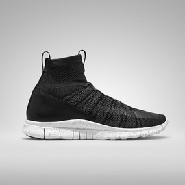 Nike - Free Mercurial Superfly HTM - Black/White