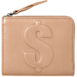 3.1 Phillip Lim - Mini Zip Wallet, Dollar, Nude