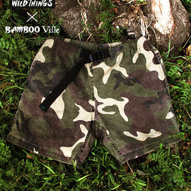 Wild Things - woodland camo climbing short